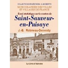 Saint-Sauveur-en-Puisaye (Essai statistique sur le canton de)