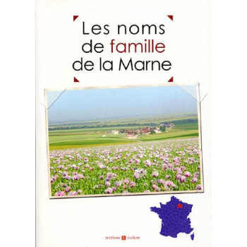 Les noms de famille de la Marne (livre d'occasion)