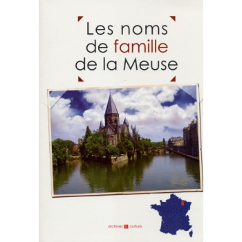 Les noms de famille de la Meuse (livre d'occasion)