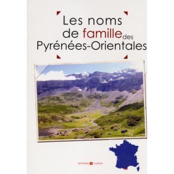 Les noms de famille des Pyrénées-Orientales (livre d'occasion)
