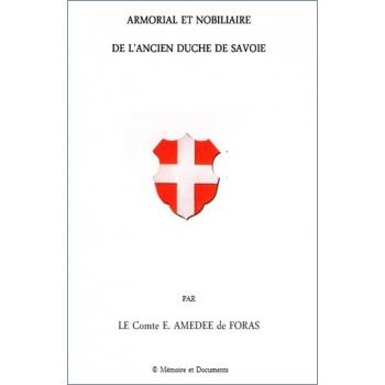 Armorial et nobiliaire de l'ancien Duché de Savoie (DVD-Rom)