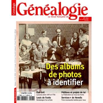 N°213 - Août 2014 Septembre 2014 - Revue Française de Généalogie