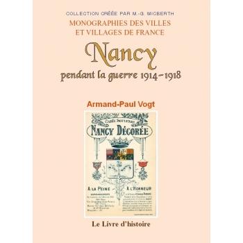 Nancy pendant la guerre 1914-1918