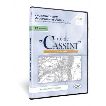 Carte de Cassini, Edition 2015 (DVD)