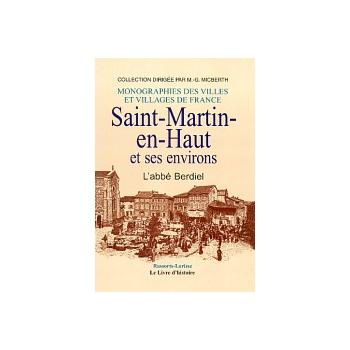 Saint-Martin-en-Haut et ses environs