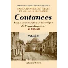 Coutances et ses environs - Tome II