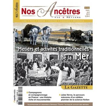N° 72 : Métiers et activités traditionnelles de la Mer - Nos ancêtres, Vie & Métiers