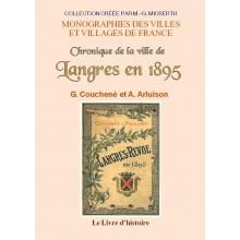 Chronique de la ville de Langres en 1895