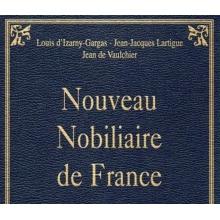 Nouveau nobiliaire de France (CD-Rom)