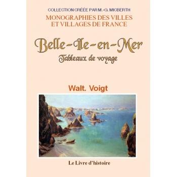Belle-Île-en-Mer - Tableaux de voyage
