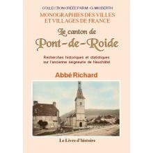 Le canton de Pont-de-Roide