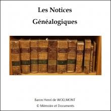 Les notices généalogiques (CD-Rom)