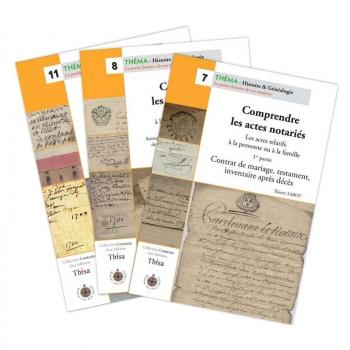 """Pack """"Comprendre les actes notariés"""" (3 guides)"""