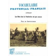 Vocabulaire provençal-français