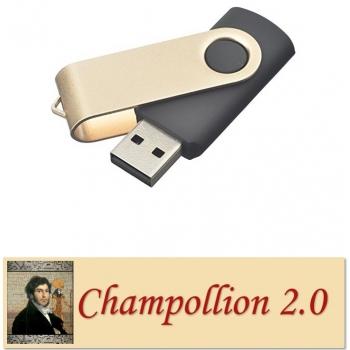 Champollion 2.0 - Logiciel de gestion des manuscrits (Clef USB)