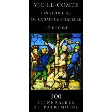 Vic-le-Comte - Les verrières de la Sainte-Chapelle