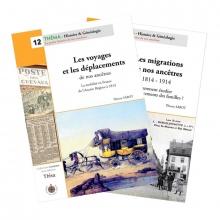 """Pack """"Les déplacements de nos ancêtres"""" (2 guides)"""