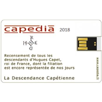 Descendance capétienne - Capédia 2018 (Clé USB)