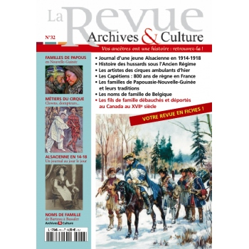 N°32 - La Revue Archives & Culture