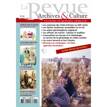 N°33 - La Revue Archives & Culture
