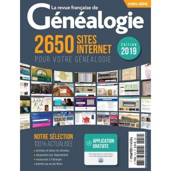 2650 sites internet pour votre généalogie - Hors série de La RFG
