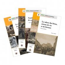 """Pack """"Familles et habitat de nos ancêtres"""" (3 guides)"""