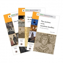 "Pack ""Les registres paroissiaux"" (3 guides)"