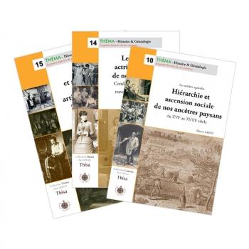"""Pack """"Hiérarchies sociales de nos ancêtres"""" (3 guides)"""