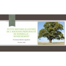 Petite histoire illustrée de l'ancienne Principauté de Boisbelle-Henrichemont