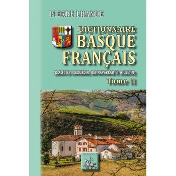 Dictionnaire Basque-Français - Tome II