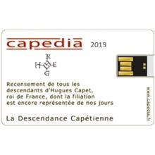 Descendance capétienne - Capédia 2019 (Clé USB)