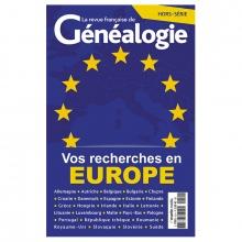 Vos recherches en Europe - Hors série de La RFG