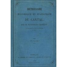 Dictionnaire historique et statistique du Cantal - Volume 3 : de Cappel-Barrès (La) à Lascelle