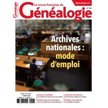 N°246 - Février Mars 2020 - Revue française de Généalogie