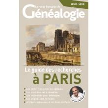 Le guide des recherches à Paris - Hors série de La RFG