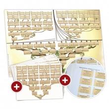 Le Pack Générama avec étiquettes autocollantes