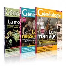 Pack du généalogiste Naissance-Mariage-Mort