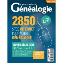 2850 sites Internet pour votre généalogie - Hors série de La RFG
