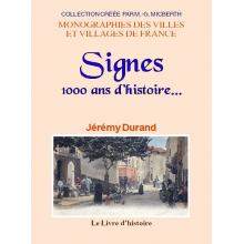 Signes - 1000 ans d'histoire