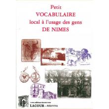 Petit vocabulaire à l'usage des gens de Nîmes