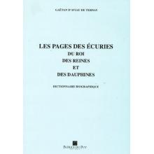 Les pages des écuries du Roi, des Reines et des Dauphines