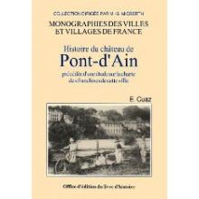 Pont d'Ain (Histoire du château de)