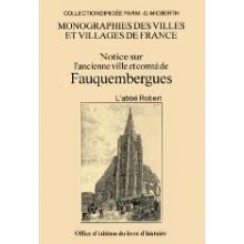 Notice sur l'ancienne ville et comté de Fauquembergues