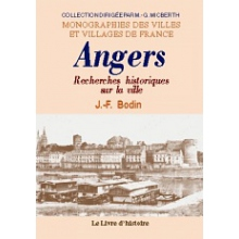 Recherches historiques sur la ville d'Angers