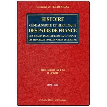Histoire généalogique et héraldique des pairs de France (CD-Rom)