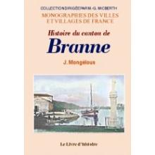 Histoire du canton de Branne