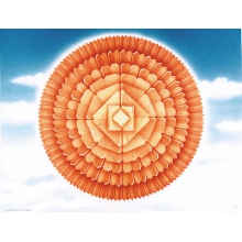 Rosace - Modèle Terre - 8 générations