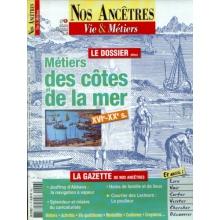 N° 06 : Métiers des côtes et de la mer - Nos ancêtres, Vie & Métiers