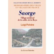 Saorge - Village médiéval de la vallée de la Roya