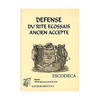 Défense du rite écossais ancien accepté